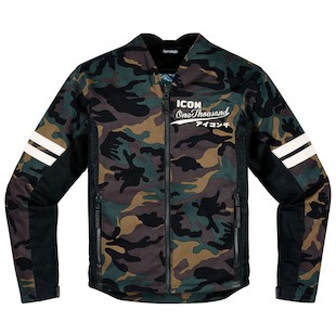 Icon 1000 Oildale Conscript Jacket (Color: Camo / Size: LG) 1090924