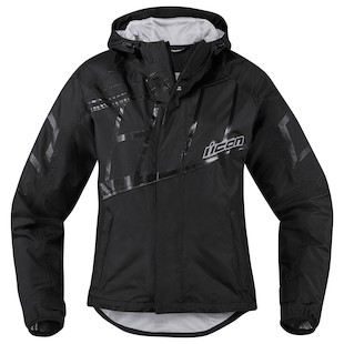 Icon PDX 2 Women's Jacket (Color: Black / Size: 2XL) 1090881