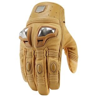 Icon 1000 Retrograde Gloves (Color: Tan / Size: 2XL) 1090964