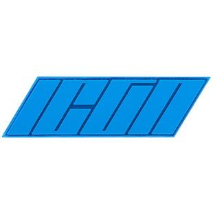 Icon Hypersport Prime Vest Patch (Color: Blue) 1090637