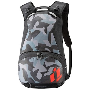 Icon Stronghold Backpack (Color: Red) 1090694