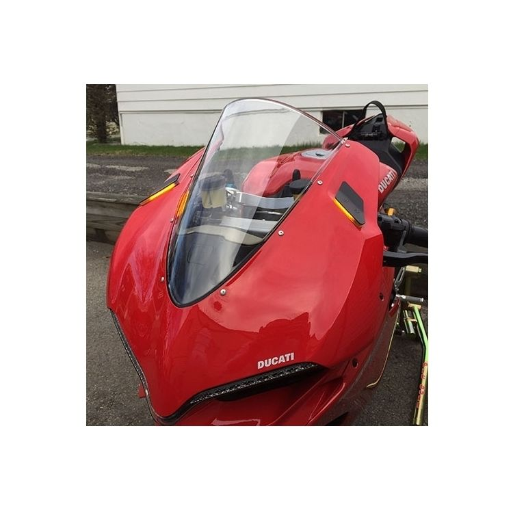 New Rage Cycles Mirror Block Off LED Turn Signals Ducati 1299 Panigale
