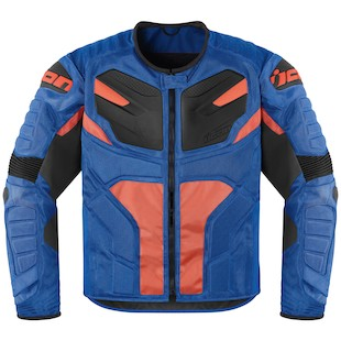 Icon Overlord Resistance Jacket - Closeout (Color: Blue / Size: XL) 918066