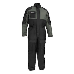 Firstgear Thermo 1-Piece Suit (Color: Black/Silver / Size: 3XL) 147706