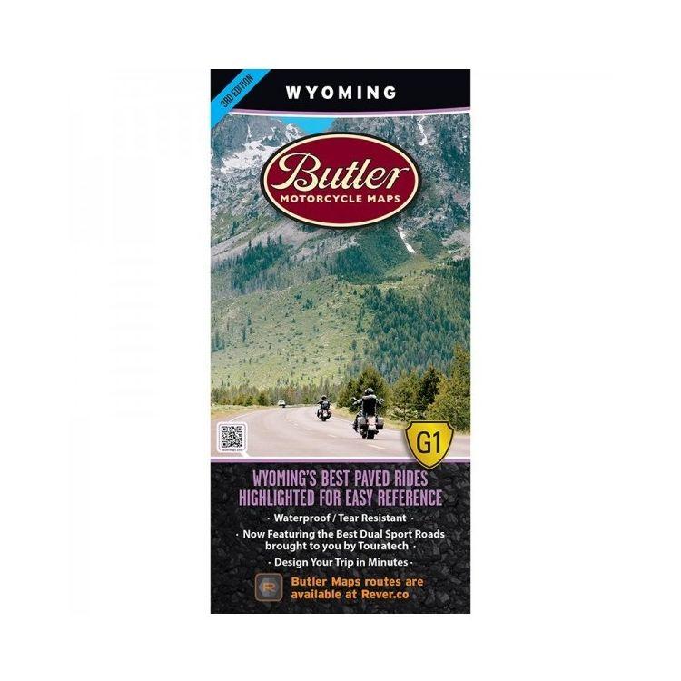 Butler Maps Wyoming