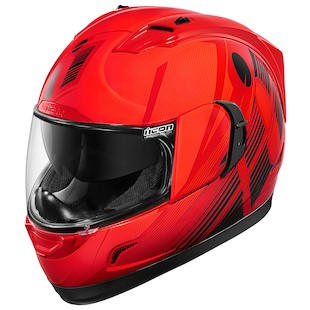 Icon Alliance GT Primary Helmet (Color: Red / Size: XL) 1091109