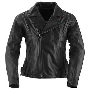 Black Brand Sapphire Women's Leather Jacket (Color: Black / Size: XS) 1096500