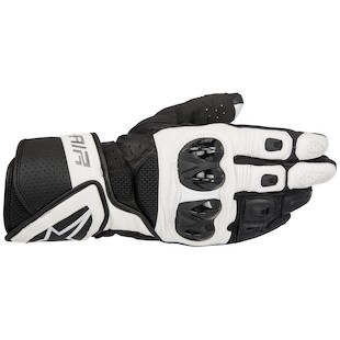 Alpinestars SP Air Gloves (Color: Black/White / Size: 2XL) 1097829