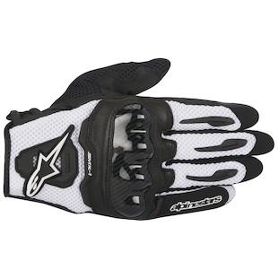 Alpinestars SMX-1 Air Gloves (Color: Black/White / Size: XL) 1097852