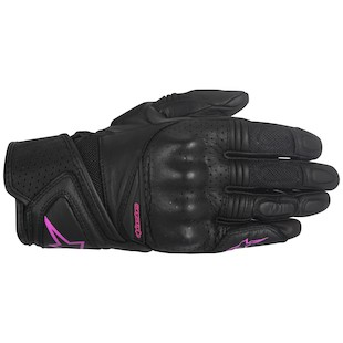 Alpinestars Stella Baika Gloves (Color: Black/Pink / Size: XS) 1097888