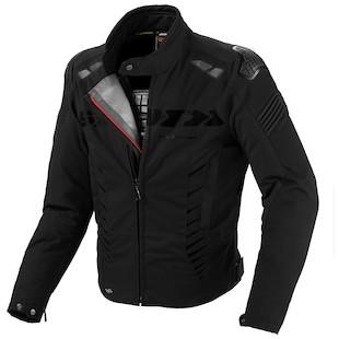 Spidi Warrior Sport H2Out Jacket (Color: Black / Size: 3XL)