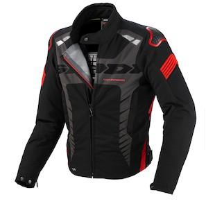 Spidi Warrior Sport H2Out Jacket (Color: Black/Red / Size: MD)