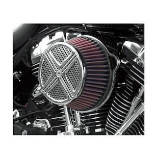 LA Choppers XXX Big Air Cleaner For Harley Big Twin 1993-2017 (Finish: Chrome) 888335