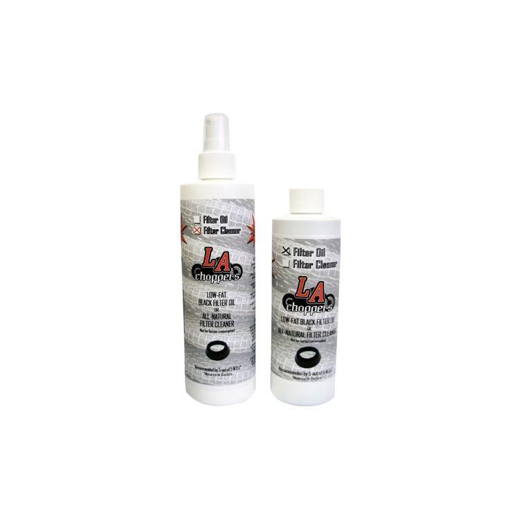 LA Choppers Black Air Filter Cleaner Kit