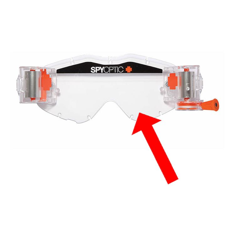Spy Omen Clear View System Replacement Goggle Lens