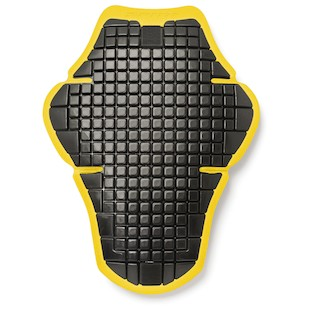 Spidi Warrior L2 Back Protector (Color: Black/Yellow) 1103069