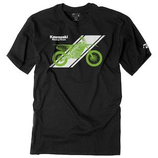 Factory Effex Kawasaki Slant T-Shirt (Color: Black / Size: 2XL) 1106861