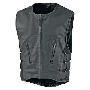 Icon Regulator D3O Stripped Vest (Color: Black / Size: 2XL-3XL) 1090875