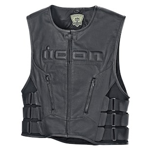 Icon Regulator D3O Vest (Color: Black / Size: 4XL) 1090872