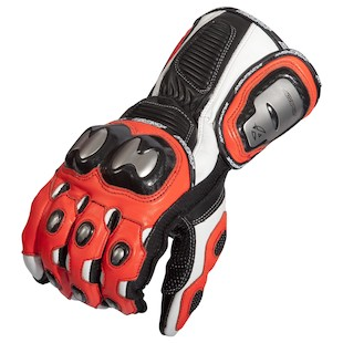 AGV Sport Echelon Gloves (Color: Red / Size: MD) 1082476