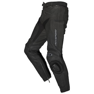 AGV Sport Willow Leather Pants (Color: Black / Size: 32) 615452