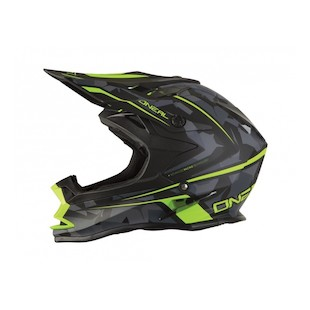 O'Neal 7 Series Camo Helmet (Color: Hi-Viz/Camo / Size: LG) 1121704
