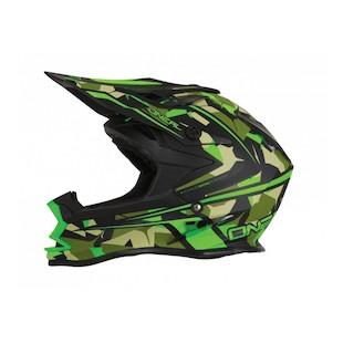 O'Neal 7 Series Camo Helmet (Color: Green/Camo / Size: XS) 1121874