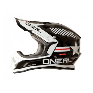 O'Neal Youth 3 Series Afterburner Helmet (Color: Black/White / Size: XL) 1121969