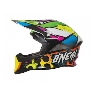 O'Neal 10 Series Glitch Helmet (Color: Hi-Viz/Black / Size: MD) 1121990