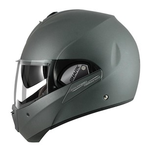 Shark Evoline 3 ST Helmet - Closeout (Color: Matte Silver / Size: LG) 836014