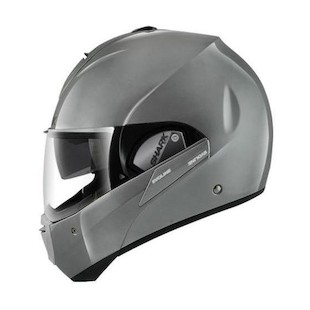 Shark Evoline 3 ST Helmet - Closeout (Color: Fusion Silver / Size: MD) 914249