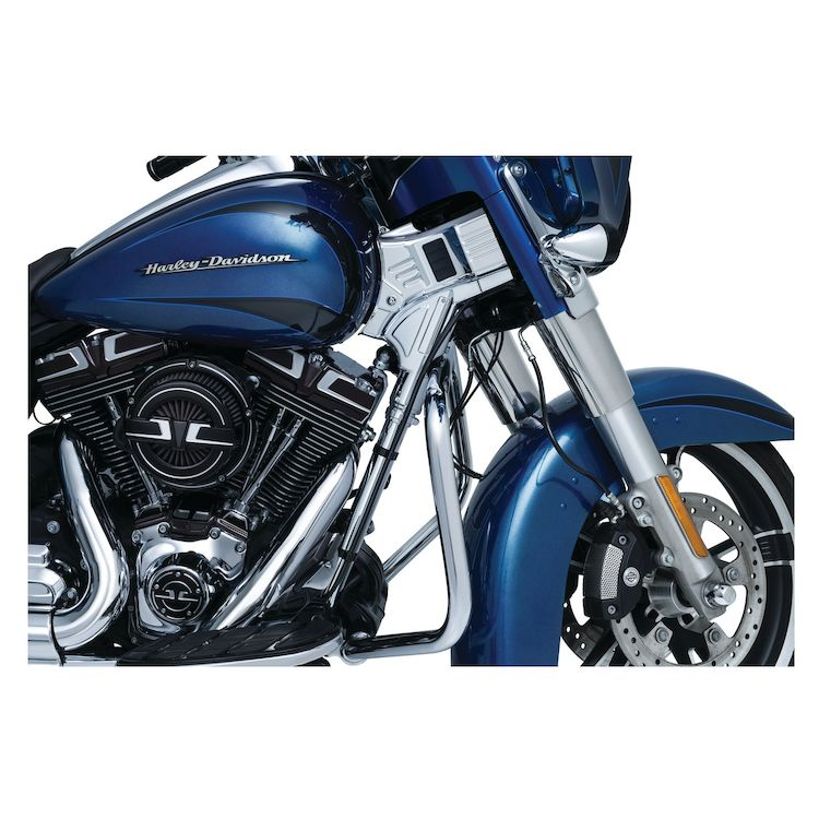 Kuryakyn Deluxe Neck Covers For Harley Touring 2014-2021