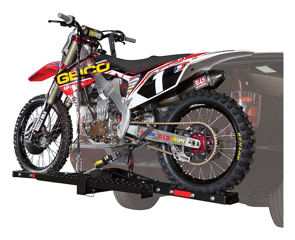 Trailer Hitch Motorcycle Carrier >> Trackside Motorcycle Carrier