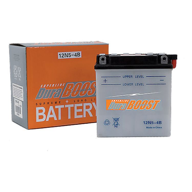 Duraboost Conventional Battery 12N5.5-4A