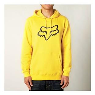 Fox Racing Legacy Fox Head Pullover Hoody (Color: Yellow / Size: 2XL) 985133