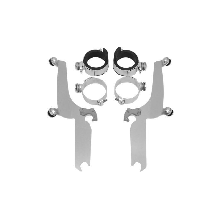 Memphis Shades Metric Sportshield Trigger-Lock Mount Kit Yamaha V Star Classic XVS1100A / XVS650A