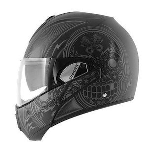 Shark Evoline 3 ST Mezcal Helmet (Color: Matte Black/Grey / Size: XL) 1128800