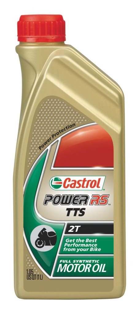 castrol power rs tts synthetic 2t engine oil cycle gear