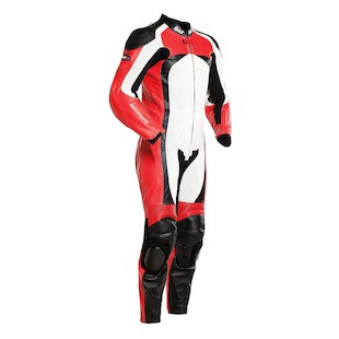 Bilt Trackstar One-Piece Race Suit (Color: Red/Black/White / Size: 46) 1129608