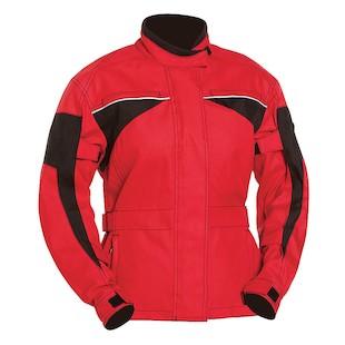 Bilt Eclipse Waterproof Women's Jacket (Color: Red/Black / Size: 3XL) 1129745