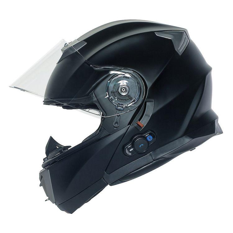 Bilt Techno Evolution Modular Bluetooth Helmet Cycle Gear