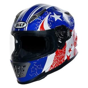 Bilt Raptor Old Glory Helmet (Color: Red/White/Blue / Size: SM) 1130333