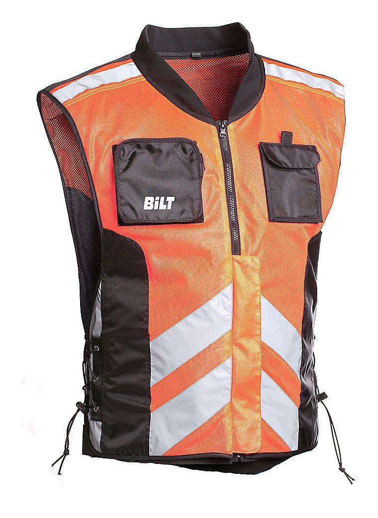 be313ad8498 Bilt Solar Reflective Vest - Cycle Gear