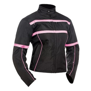 Bilt Helia Waterproof Women's Jacket (Color: Pink/Black / Size: LG) 1130882