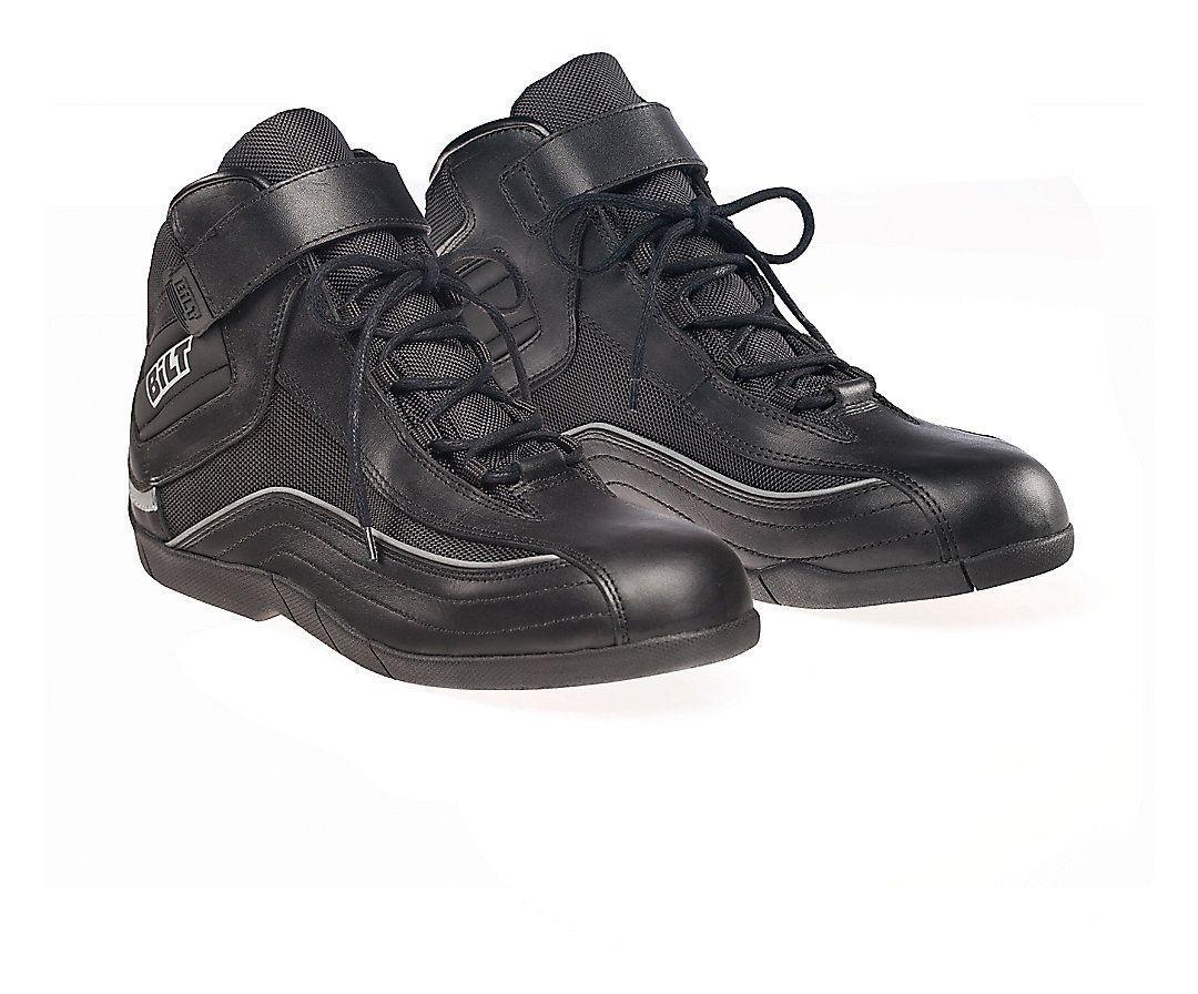13 Black BILT Pit Motorcycle Boots