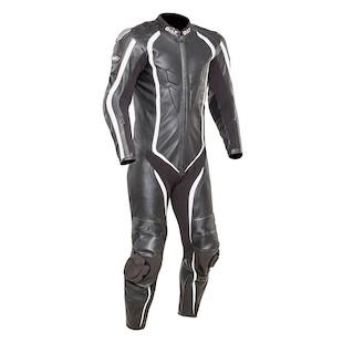 Bilt Predator Perforated Race Suit (Color: Black/White / Size: 44) 1132758