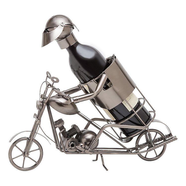 Wheelies Motorcycle Wine Holder