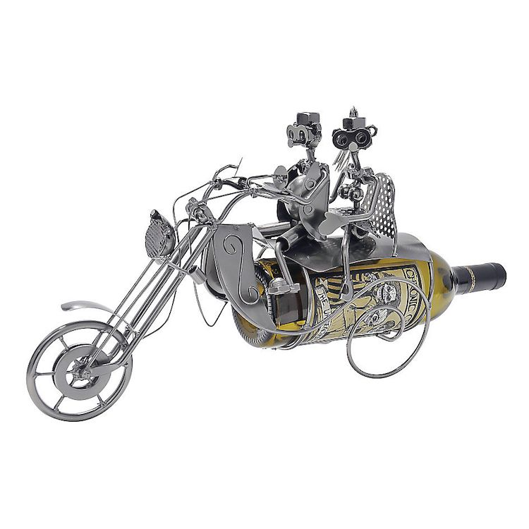 Wheelies Two Up Bike Wine Holder