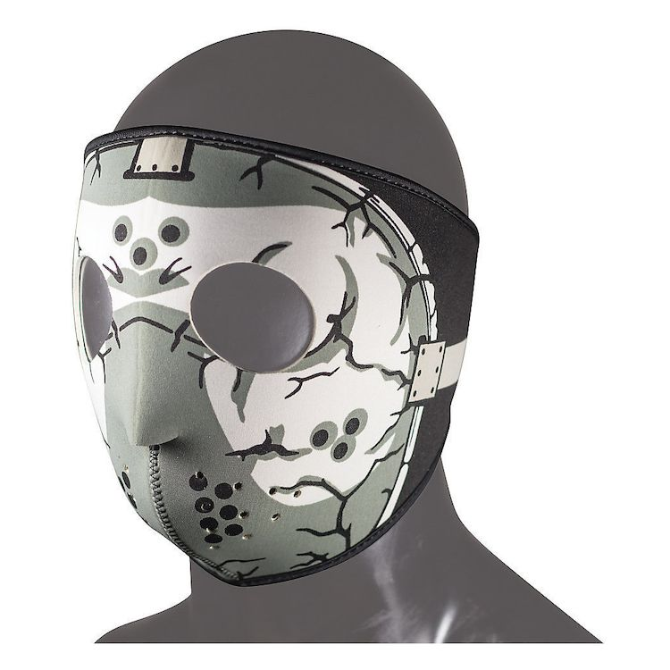 Hockey Mask Black/Grey