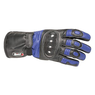Bilt 4 Kids Strike Leather Gloves (Color: Blue/Black / Size: SM) 1133405